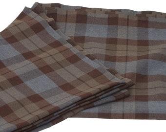 Official OUTLANDER Plaid Fabric - Poly/Viscose Wool-Free Tartan Fabric - Priced per half yard