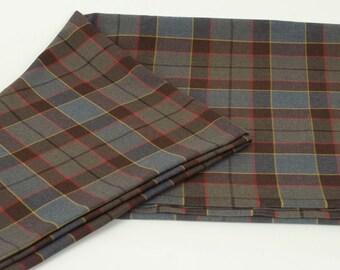 Official OUTLANDER Poly/Viscose Tartan Fabric (Choose OUTLANDER or Fraser)