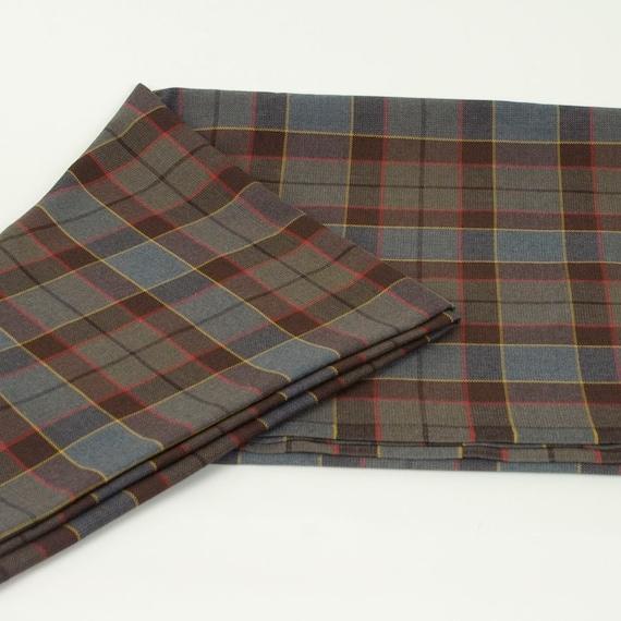 52cfd913f0 Official OUTLANDER Poly/Viscose Tartan Fabric Choose | Etsy