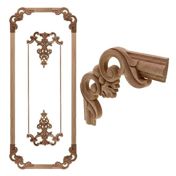 Antique Decorative Wood Appliques For, Wood Appliques For Furniture
