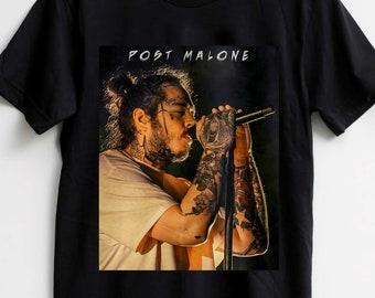 c6c5ca54 Post Malone Unisex t-shirt, Stoney Tees, T-shirt for Concert, Post Malone  Shirt, Inspired Fans T-shirt Size Best Item S - XXL