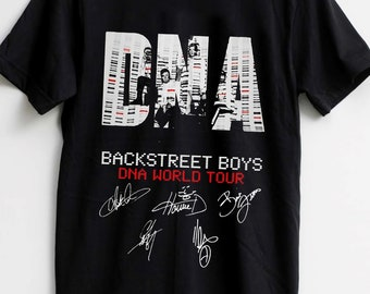 3c86828f Backstreet Boys DNA TShirt World tour Logo T-shirt Size Best Item S - XXL