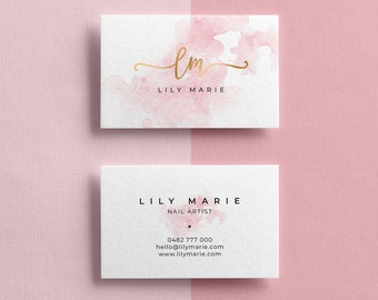 Gold And Purple Cake Personalised Business Cards