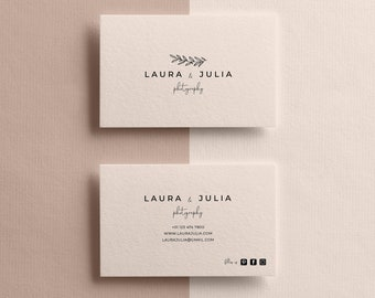 Business Cards Template Etsy