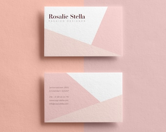 Boudoir Business Card Template Modern Business Card Design Etsy
