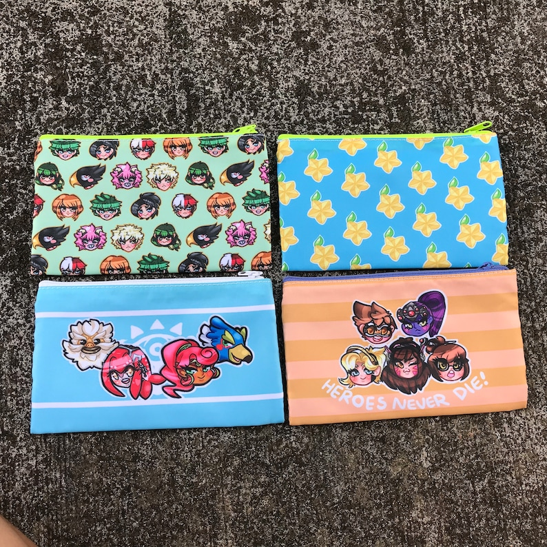 Old style art Pouches!