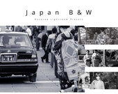 Desktop Lightroom Presets: Japan B&W