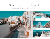 Desktop Lightroom Preset, Santorini Orange