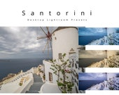 10 Desktop Lightroom Presets: Santorini