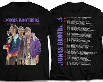79f57c486 Jonas Brothers 2019 Tour Concert Unisex T-Shirt Short Sleeve Long Sleeve  Sweatshirt Hoodie Tank Top, Premium Tee for travellers