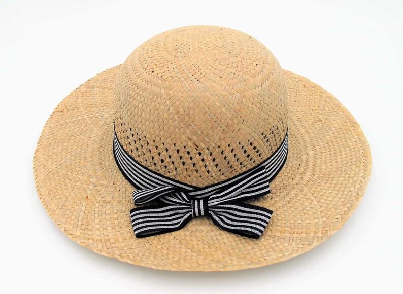 2c251669 Womens Wide Brim Straw Hat Floppy Straw Hat Beach Sun Hat | Etsy