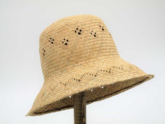 Straw Bucket Hat Brim Design Sun Hats Straw Hats For  b9aadf7d31a