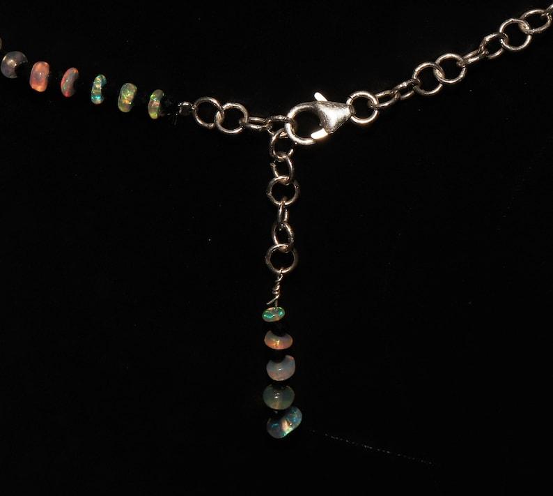 Natural Beautiful Ethiopian Fire Opal Beads /& Spinal Beads Necklace  Opal Beads Necklace  Ethiopian Opal Beads  Opal Beads With Spinal