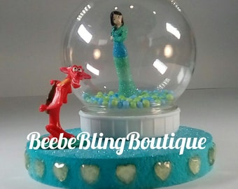 Enjoyable Mulan Cake Topper Etsy Funny Birthday Cards Online Alyptdamsfinfo