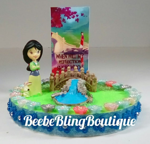 Remarkable Disney Mulan Cake Topper Or Centerpiece Decoration Etsy Funny Birthday Cards Online Bapapcheapnameinfo