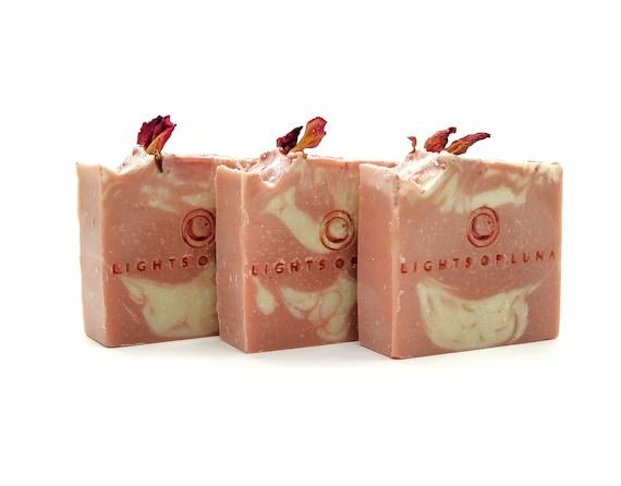 Rose Romance Artisan Soap Bar
