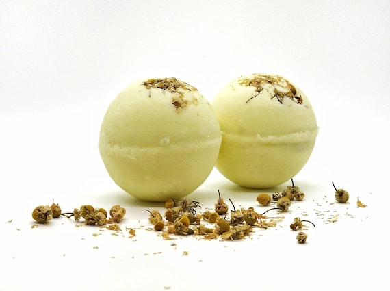 Chamomile Bath Bomb With Surprise Crystal