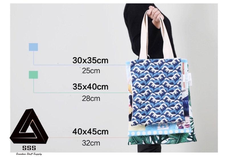 Shopping Bag Shoulder Bag Sneaker Head Custom Off White Tote Bag Gift Bag