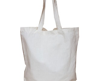 1431068795 Blank Tote Bags - Value Natural Gusseted Cotton Tote - 25/50/100