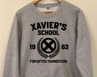 65b63fe14 Xavier's School for Gifted Youngsters X-men inspired adults unisex  Sweatshirt