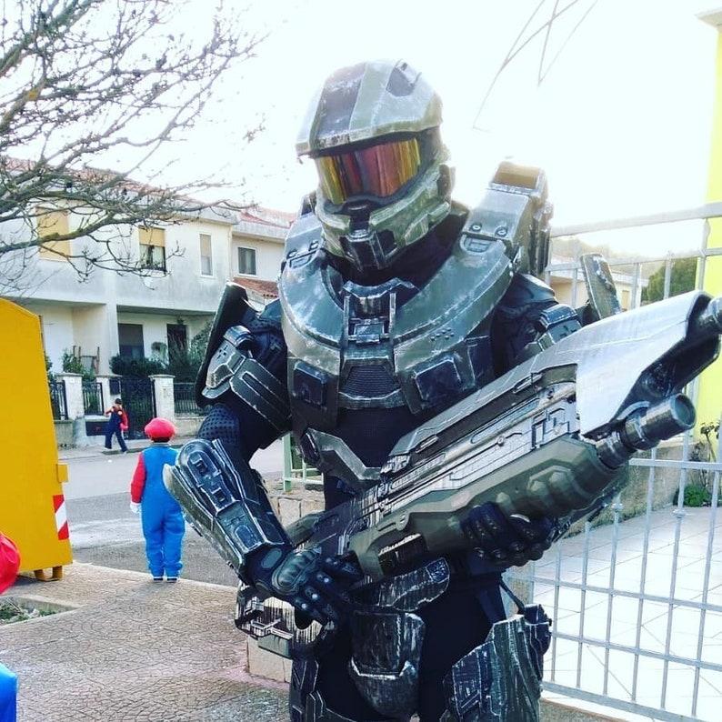 Master Chief Halo 4 costume armor Petty Officer John-117