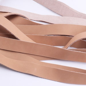 34 Leather strap,Leather For Belt,Italian genuine Leather,flat tan calf Leather Strips,Cowhide Leather,Leather For Bag Straps,Leather Cord