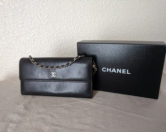 d5b862f13d7f94 Authentic Chanel Customized Wallet on a Chain in Smooth Caviar