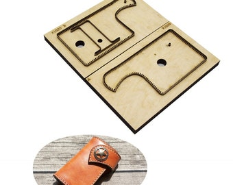 8b3c90faa Japan Steel Blade Rule Die Cut Steel Punch card bag Cutting Mold Wood Dies  for Leather Cutter for Leather Crafts