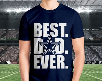 db08858b Dallas Cowboys -Best Dad Ever Tee, dad shirt, Mens cowboys shirt, cowboy  dad shirt, dallas cowboys, mens shirt, dad gift, fathers day gift