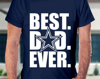 6370185d Best Dad Ever, dallas cowboys shirt, dad shirt, Mens cowboys shirt, cowboy  dad shirt, dallas cowboys, mens shirt, dad gift, fathers day gift