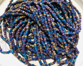 Bead Art Kits by Lillian Todaro. White Opaque 110 Vintage Czech Seed Beads For Jewelry Making Crafts /& Beading