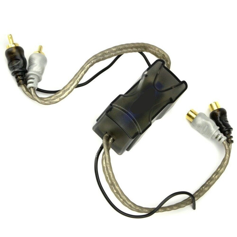 60 AMP Ground Loop Isolator Noise Filter 2-Channel Gold-Plated image 0