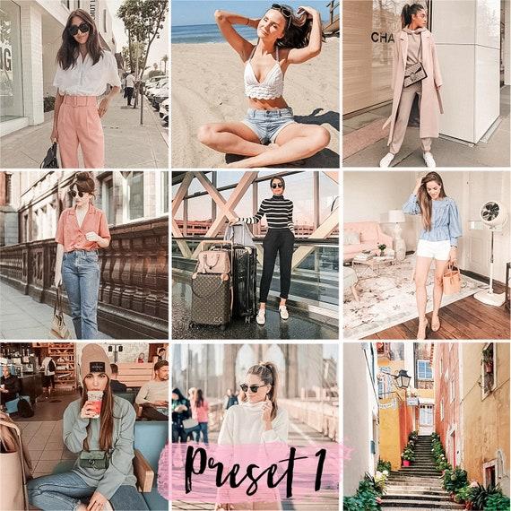 3 Lightroom Presets - Sakura - Instagram Presets and Blogger Presets | rose  pink mobile presets | lr presets