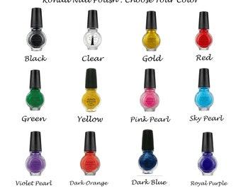 Choose Your Color   Konad Professional Nail Polish   11ml   12 colors