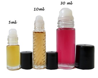 Pick Any one: Women's Perfume Oil Roll on 5ml - 10ml - 30ml, Designer Inspired