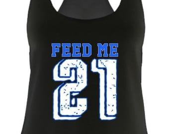 feed me zeke cowboys game day shirt Next Level tank ea8cb0e79