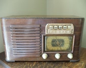 Vintage 1941 Zenith Tube Radio Model 6S527