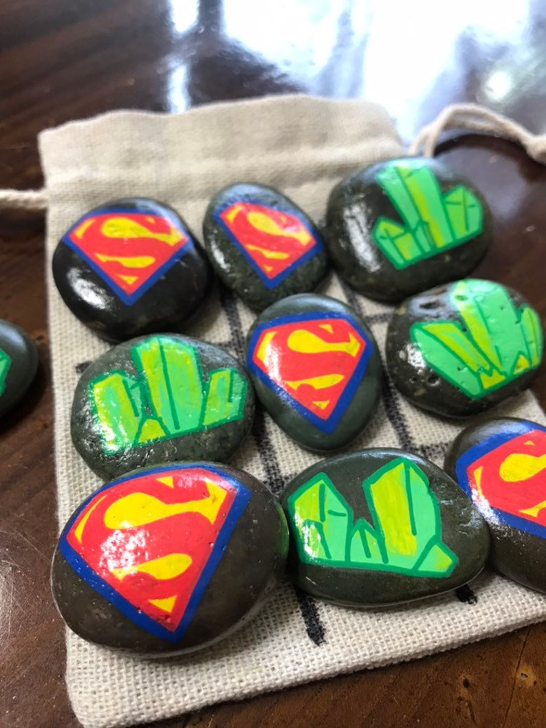 Superman Birthday Gift Tic Tac Toe Superhero