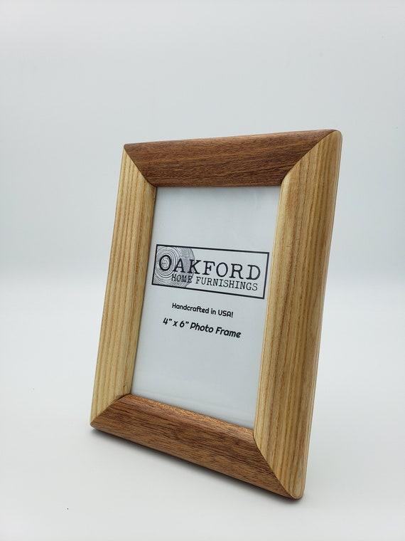 8x10 Picture Frame Housewarming Walnut Minimalist Birthday Handmade Ash Modern Simple Gift for Weddings Wood Picture Frame