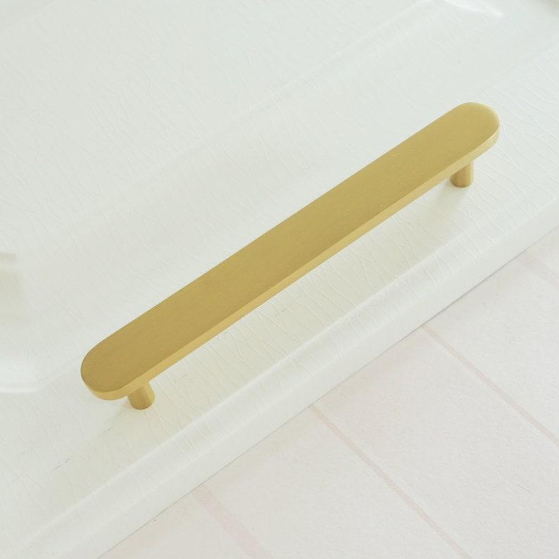 3.0\u201c 3.78 5.0 6.3 Modern Brass Cabinet Pulls Handles Drawer Knobs Pulls Dresser Pulls Knobs Kitchen Wardrobe Cupboard Pulls  160mm
