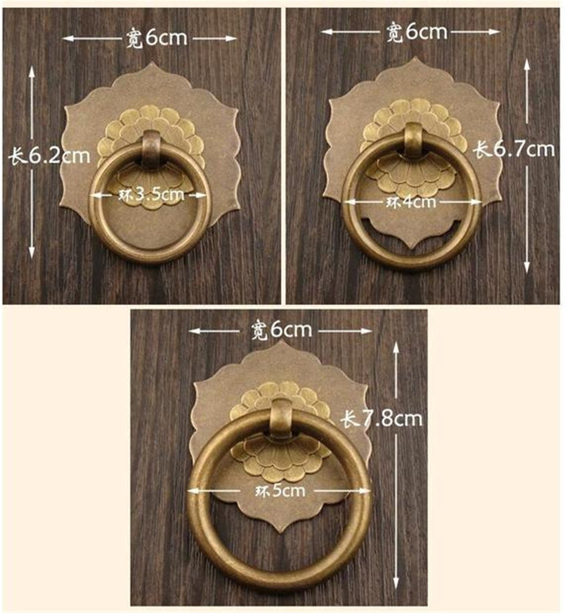 Custom listing for  46 pieces  back plate  Dresser Pulls Knobs Kitchen Cabinet Door Knobs Handles Cupboard Hardware Decor