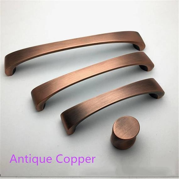 3 78 5 6 Antique Copper Bronze, Antique Bronze Kitchen Cabinet Hardware