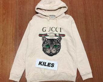 136e217084b Gucci mystic cat hoodie