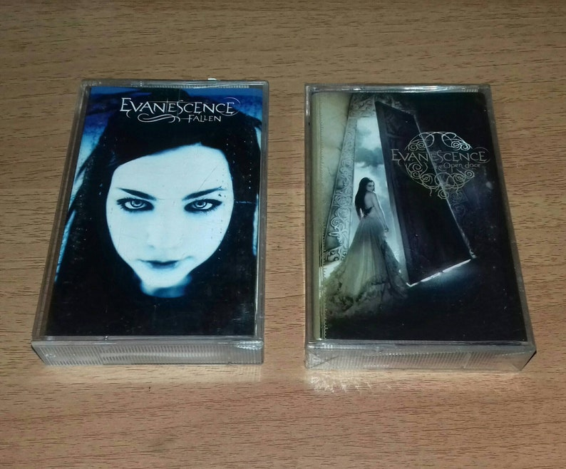 EVANESCENCE - Fallen & The Open Door - Cassette Tape | Linkin Park Static X  System Of A Down 12 Stones Papa Roach Seether 3 Doors Down Korn