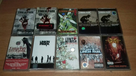 Linkin Park Hybrid Theory Reanimation Meteora Live In Texas Minutes To Midnight Fort Minor Jay Z X Ecutioners Cassette Tapes