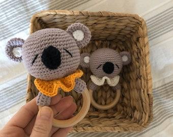 Coccodrillo Orso sonaglio, cotone giocattolo dentizione, Teddy ...   270x340