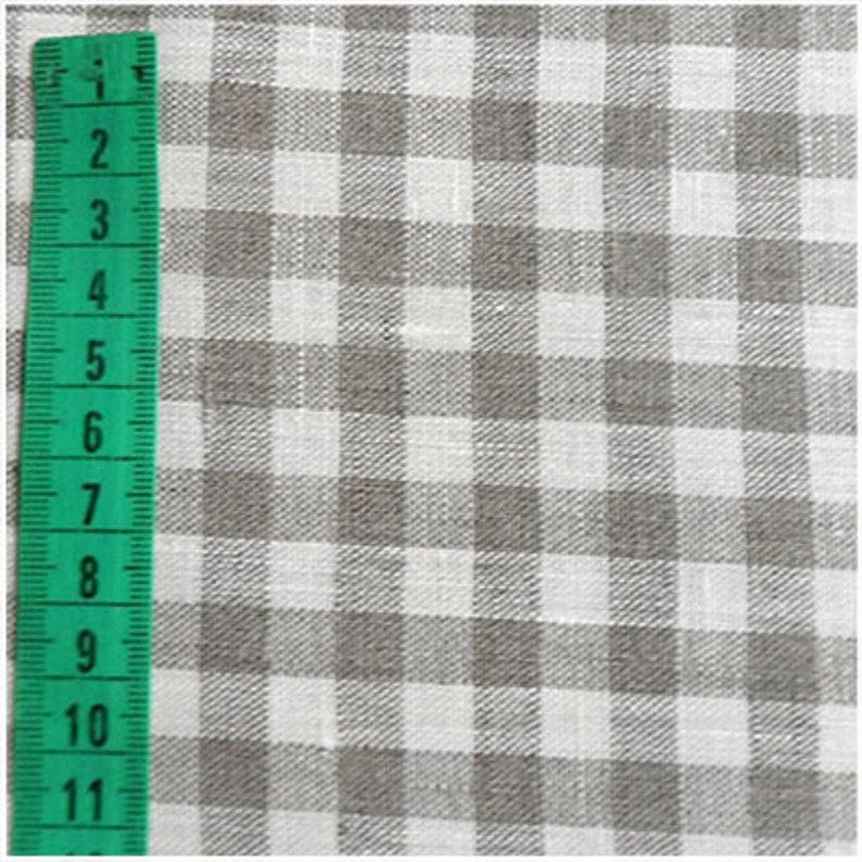 100% Linen fabric 200gsm medium weight dense fabric Small image 5