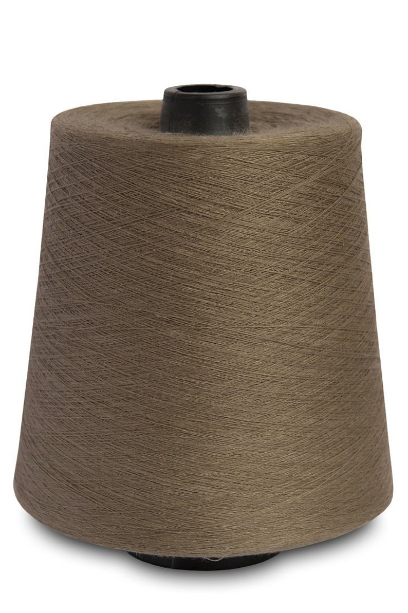 2-ply 100/% linen threads crafts Flax Yarns Crochet weaving knitting embroidery Dusty choco brown 1-ply 3-ply and 4-ply