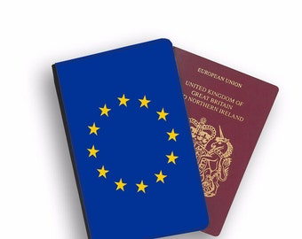 Polish Flag Eagle Leather Passport Holder Funny Passport Cover Wallet