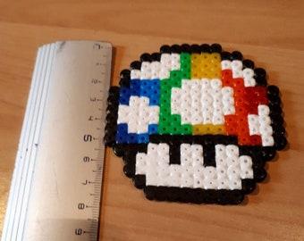 Pixel Art Champignon Mario Etsy